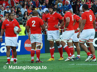 Tonga on attack