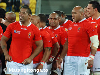 Left to right, Viliami Ma'afu, 'Aleki Lutui, Soane Tonga'uiha and Joe Tu'ineau