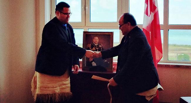 New Honorary French Consul to Tonga - Matangi Tonga