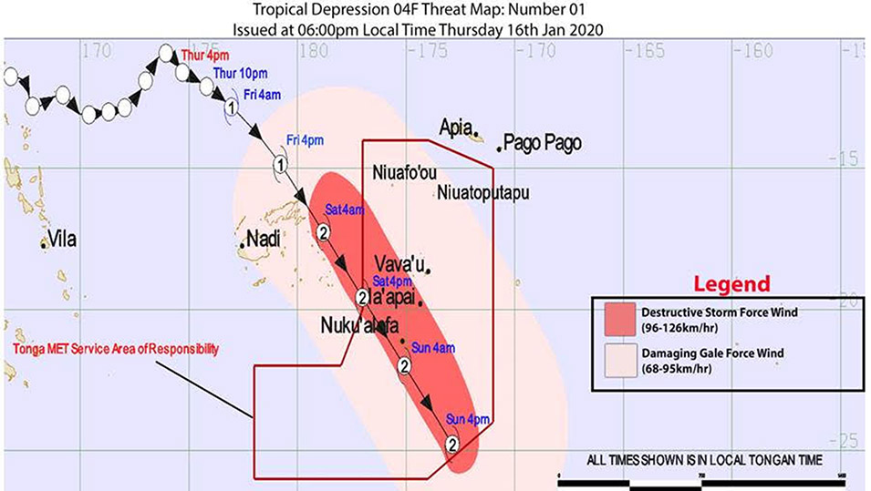 Fiji braces for second cyclone in weeks