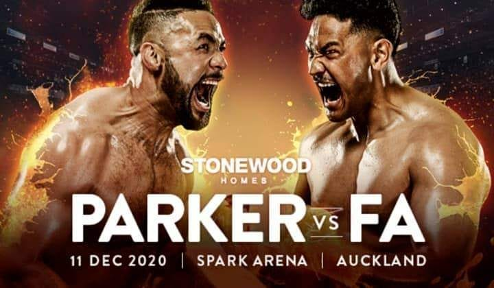 Joseph Parker and Junior Fa face off; fight details revealed