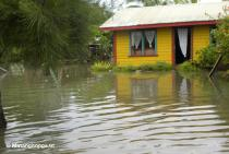 Flooded home at Hala'ovave, Tongatapu after Cyclone Jasmine