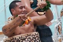 Tongan welcome dance