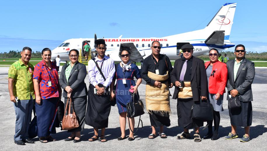 real tonga launches international flight to samoa. Black Bedroom Furniture Sets. Home Design Ideas